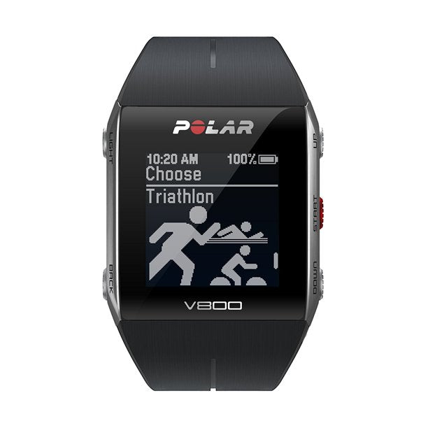 Polar 90050554 Gps sports watch with heart rate monitor, black Unisex Watches Lexor Miami