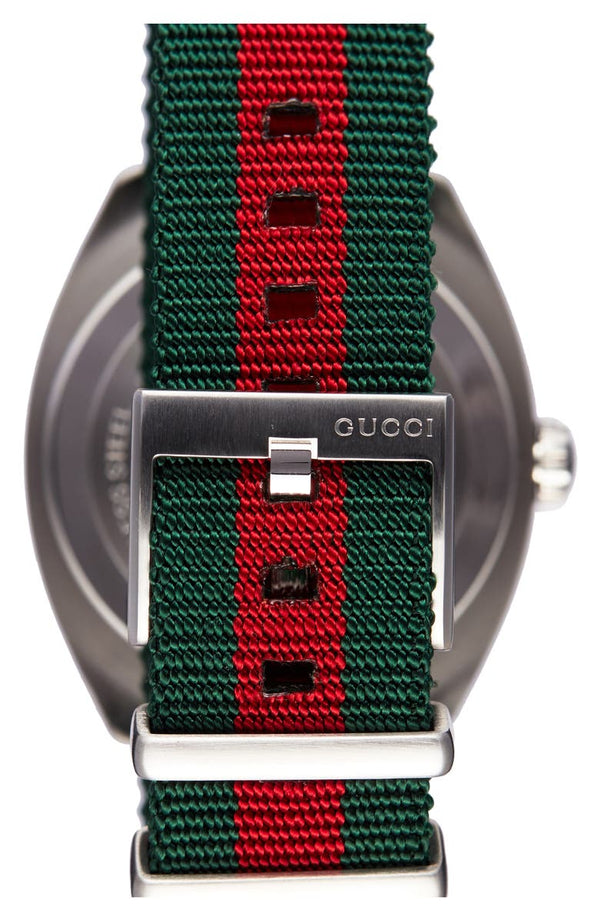 Gucci YA142305 Nylon Strap Men Watches