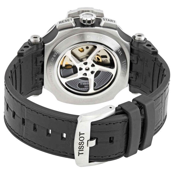 Tissot T1154272706100 Tissot Chronograph Automatic Anthracite Dial Men Watches Lexor Miami