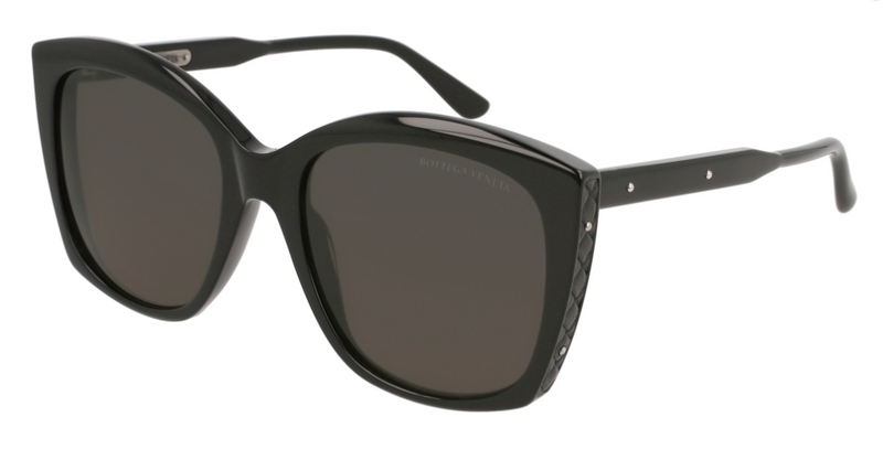 Bottega Veneta BV0182S 001 55 Sunglasses Women