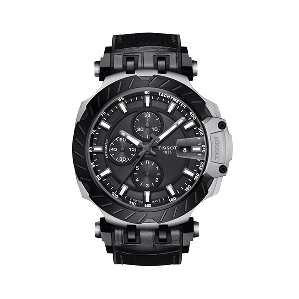 Tissot Watch T1154272706100 T-Race Black - Lexor Miami