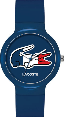 Lacoste 2020068 Quartz Analog Blue Silicone Unisex Watches Lexor Miami