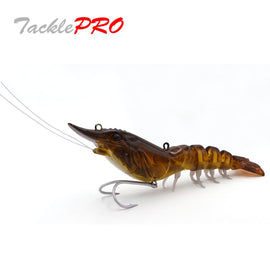 TacklePRO X01 Retail Fishing Baits Sinking Artificial Shrimp Lure Suppliers crab lure New Model Hard Baits Deep water Tackle