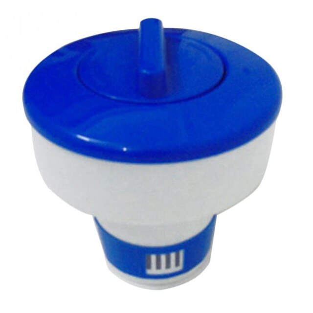 5/8 inch Swimming Pool Spa Chlorine Bromine Chemical Tablet Auto-Supplier Tab Floater Dispenser Afloat Cleaning Euipments