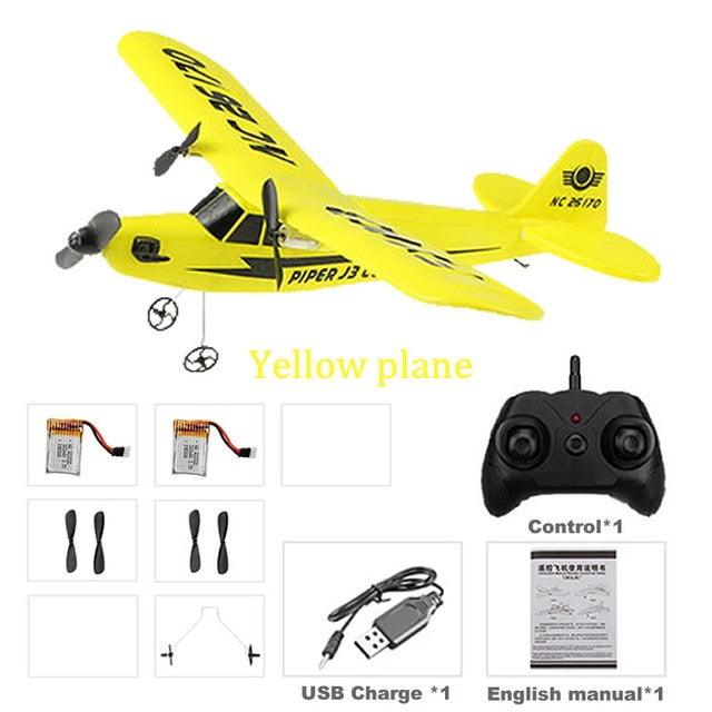 USA Popular Beginner Electric RC Airplane RTF Kit EPP Foam 2.4G controller 150 Meters Flying Distance Remote Control Plane AOSST