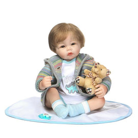 Recommended Hot Selling Model Rebirth Infant Doll Electricity Supplier Supply of Goods Export Toy Safe Environmentally Friendly
