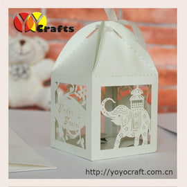 Top sell wedding box wedding and party decoration supplier custom elephant wedding favor box with cheap price hot for USA