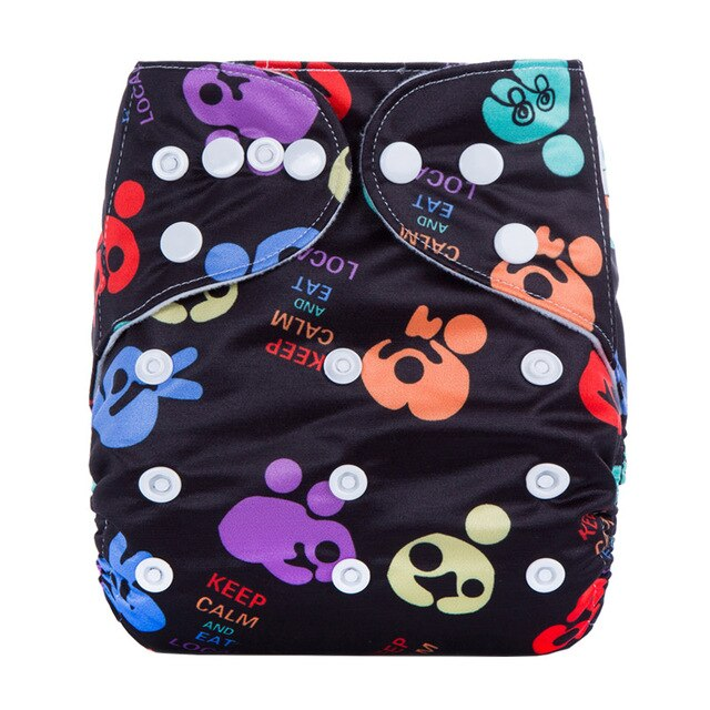 Ananbaby Modern Cloth Nappy Popular Supplier High Quality Waterproof PUL Fabric Cloth Diapers For Babies