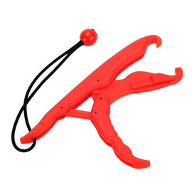 PP Hard fishing float Plastic LipGrip Fish float  Red Yellow Supplier 23.5cm Hand Control Fishing Lip Grip Floating Griper