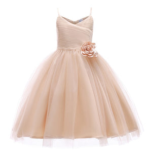 Girls Princess Wedding Party Dresses