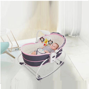 New 5 In 1 Bassinet/Rocker/Travel Carrying Bed