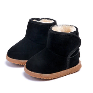 Baby/Toddler Girls Leather Style Boots