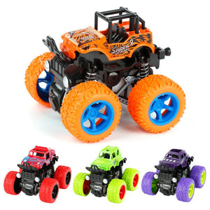 New Mini Inertial Vehicle Four-Wheel-Drive Stunt Car