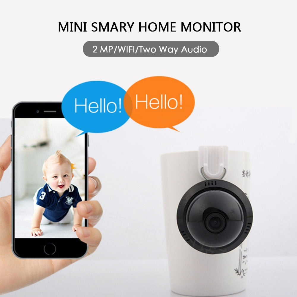 Wireless 1080P Baby Monitor with Voice Intercom