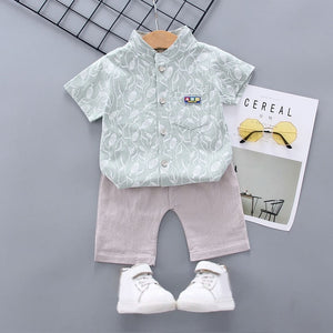 Toddler Boy Boating Style Outfit