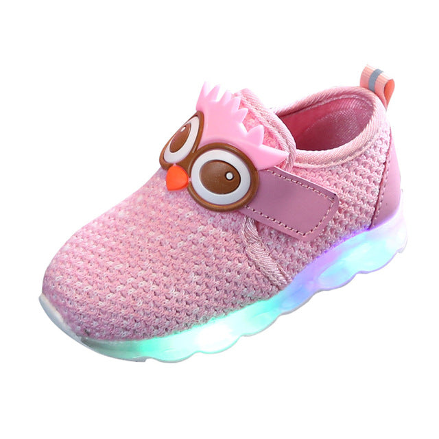 Children's LED Luminous Sporty Shoes