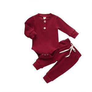 Newborn/Toddler Boys Comfortable Play-Around Outfit