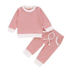 Relax Fit Baby Girls 2pc Outfits