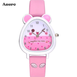Mousy Quartz Watch For Girls