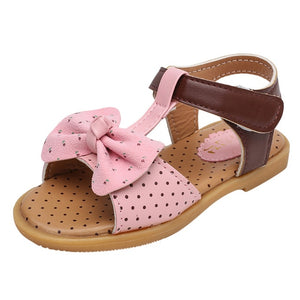Butterfly-Knot Single Princess Sandals