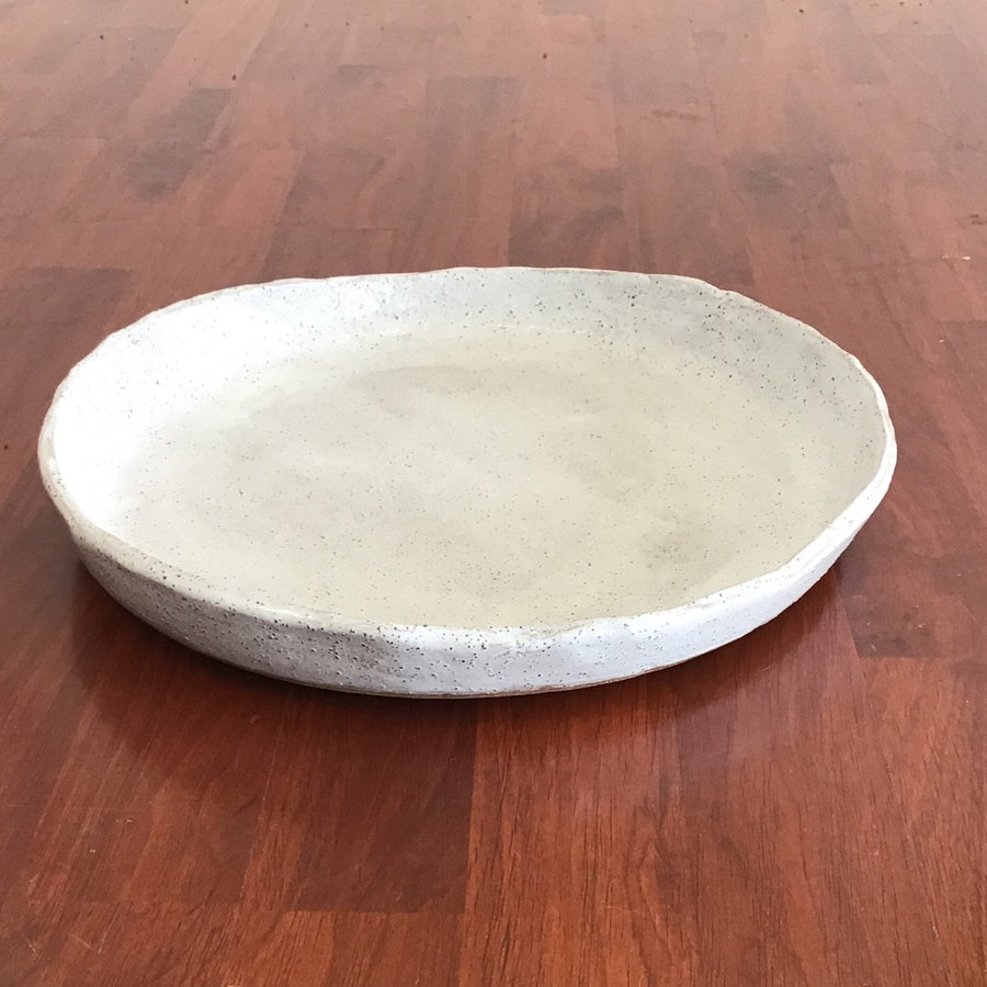 Angela Edwards Ceramics - White Speckled Dish