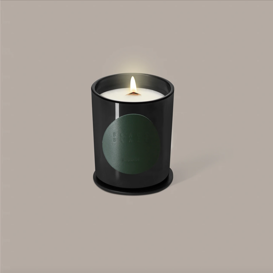 Black Blaze - Natural Scented Candle