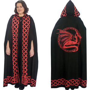 Cotton Cloak Dragon Red