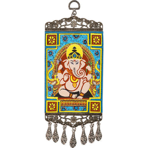 Ganesha Wall Carpet Hang