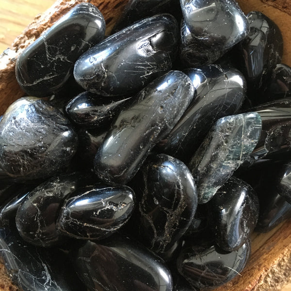 Black Tourmaline - Tumbled