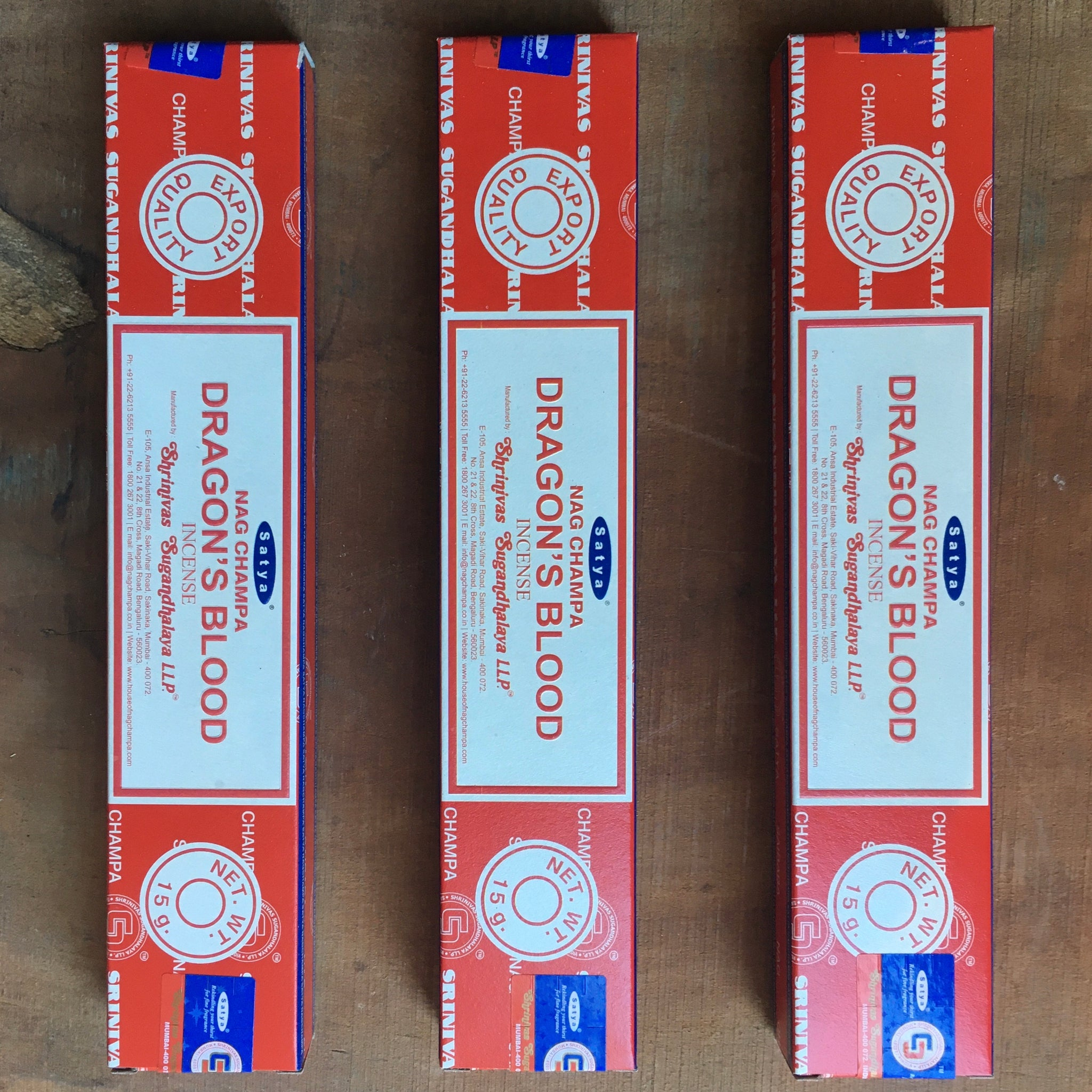 Dragon's Blood Satya Incense