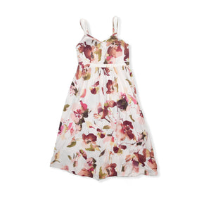 Women's Blithe Pink Floral Dress - Crabapple