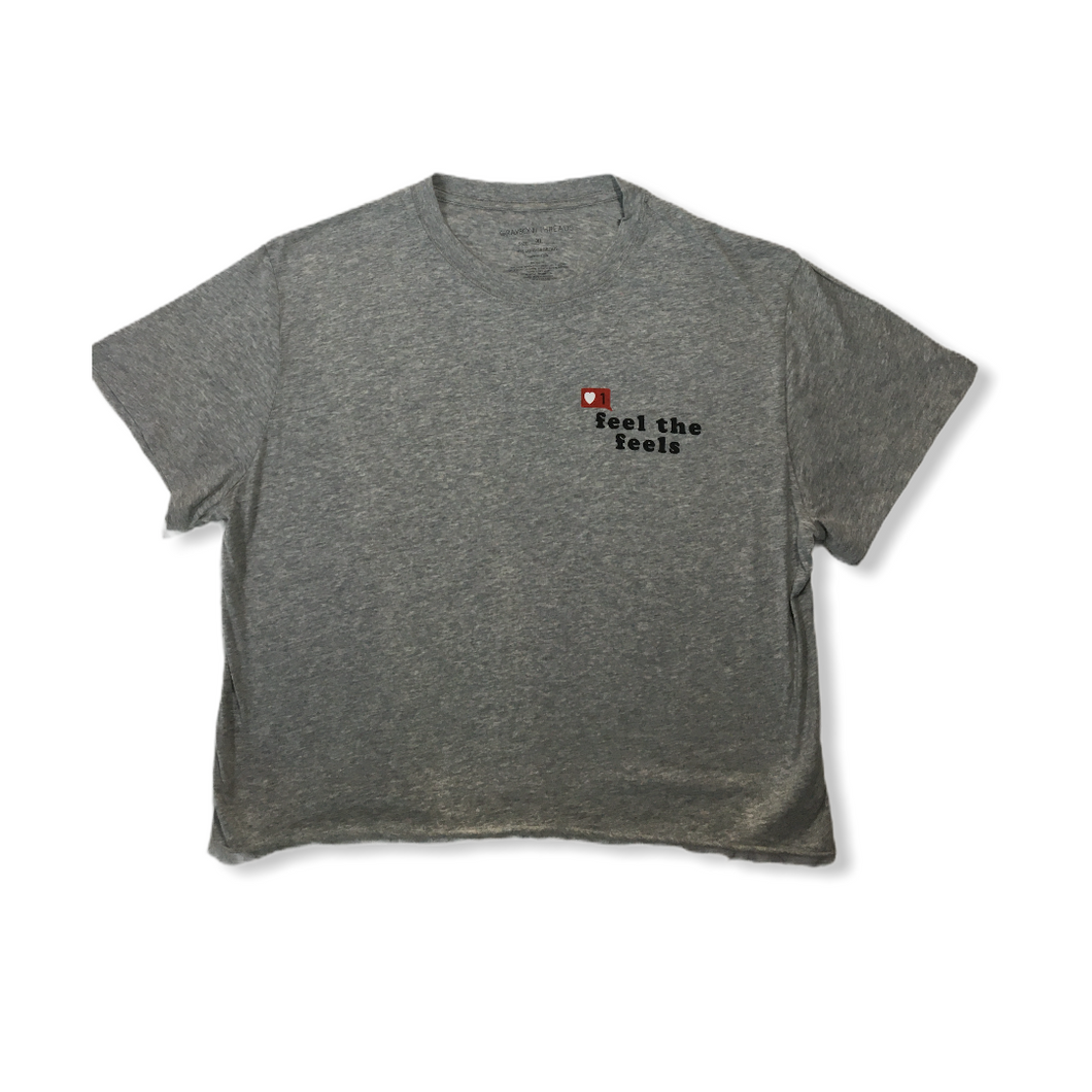 Girls' Gray T-Shirt - Crabapple