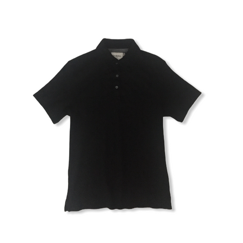 Men's Ebony Short Sleeved Polo - Crabapple
