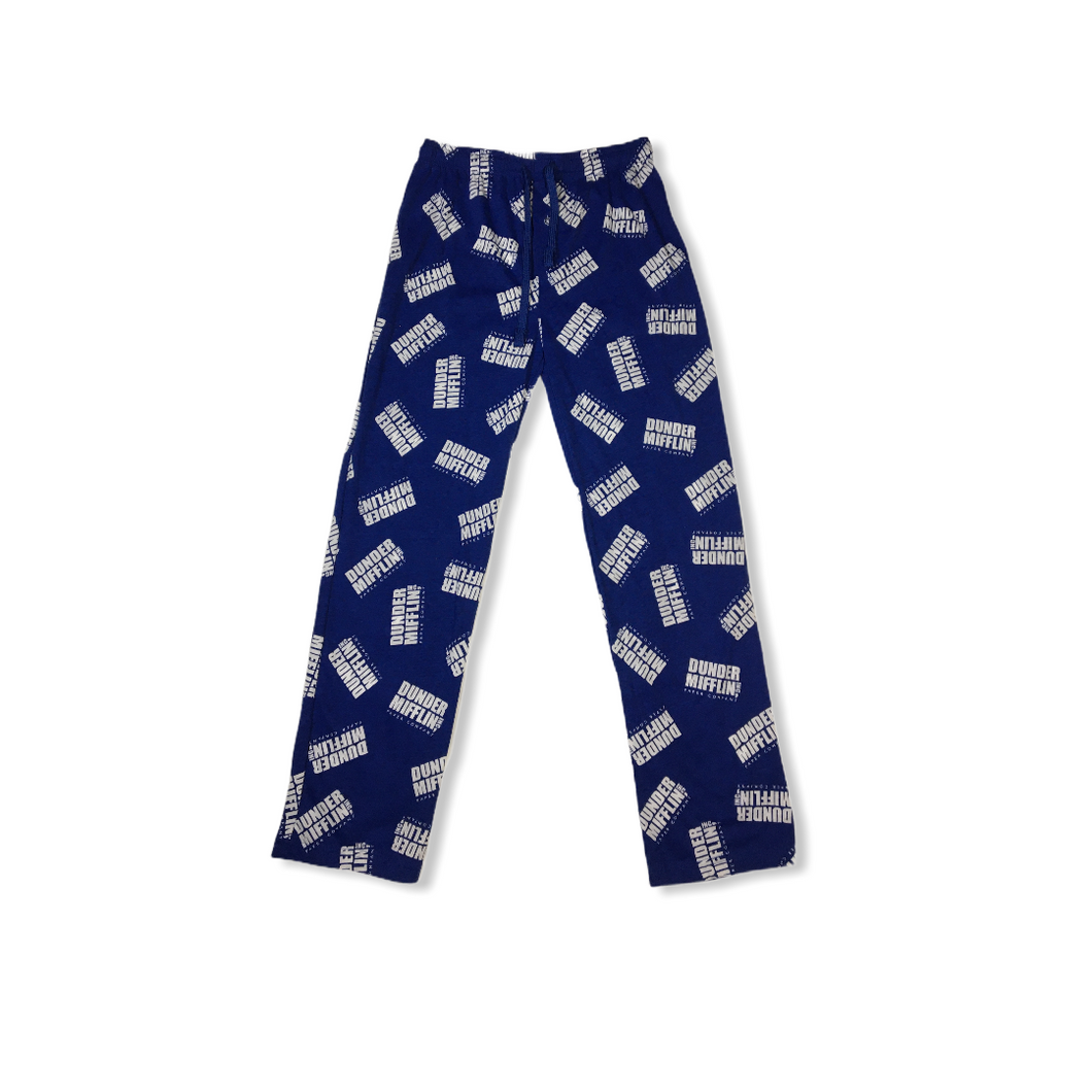 Men's Dunder Mifflin Pajama Pants - Crabapple
