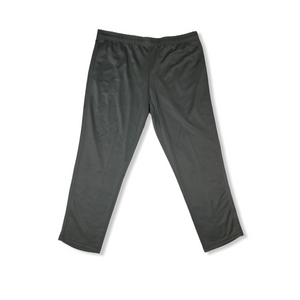 Men's Duo Dry Breathable Thunder Grey Training Pants - Crabapple