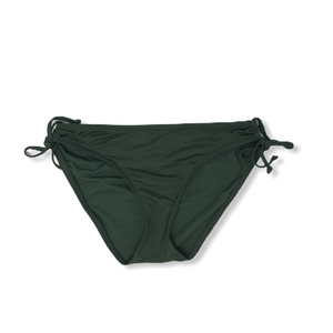 Women's Green Tie Swimsuit Bottoms - Crabapple