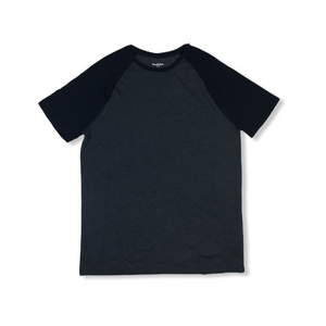 Men's Navy Raglan T-Shirt - Crabapple