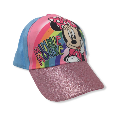 Kids' Minnie Mouse Snapback Baseball Hat - Crabapple