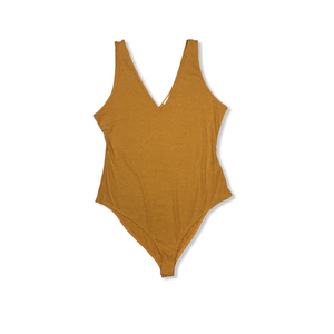 Women's Yellow Treasure Bodysuit - Crabapple