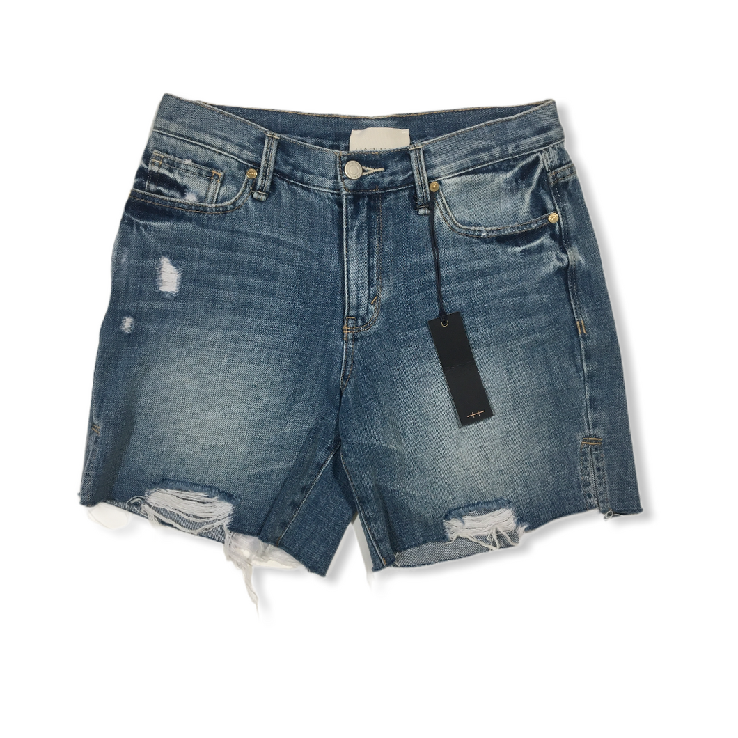 Women's Mid Rise Cutoffs - Crabapple