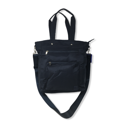 Women's Blue Convertible Backpack - Converts to Tote - Crabapple