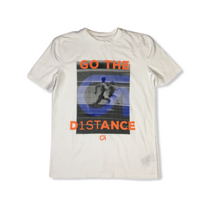 "Boys' ""Go The Distance"" Moisture Wicking Trainer Tee - Crabapple"