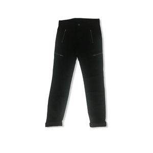 Girls' Black 4 Pocket Pants - Crabapple