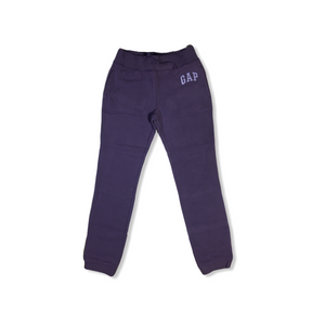 Girls' Purple with Violet GAP Sweatpants - Crabapple