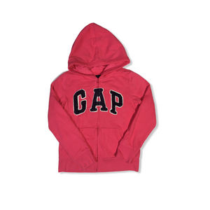 Girls' Pink Zip-Up Hoodie - Crabapple