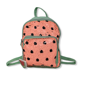 Toddler Watermelon Canvas and Flip Sequins Backpack - Crabapple