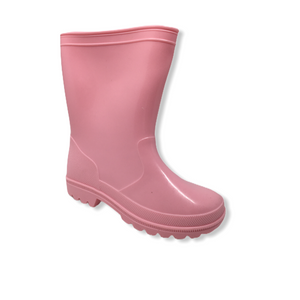 Girls' Pink Rain Boots - Crabapple