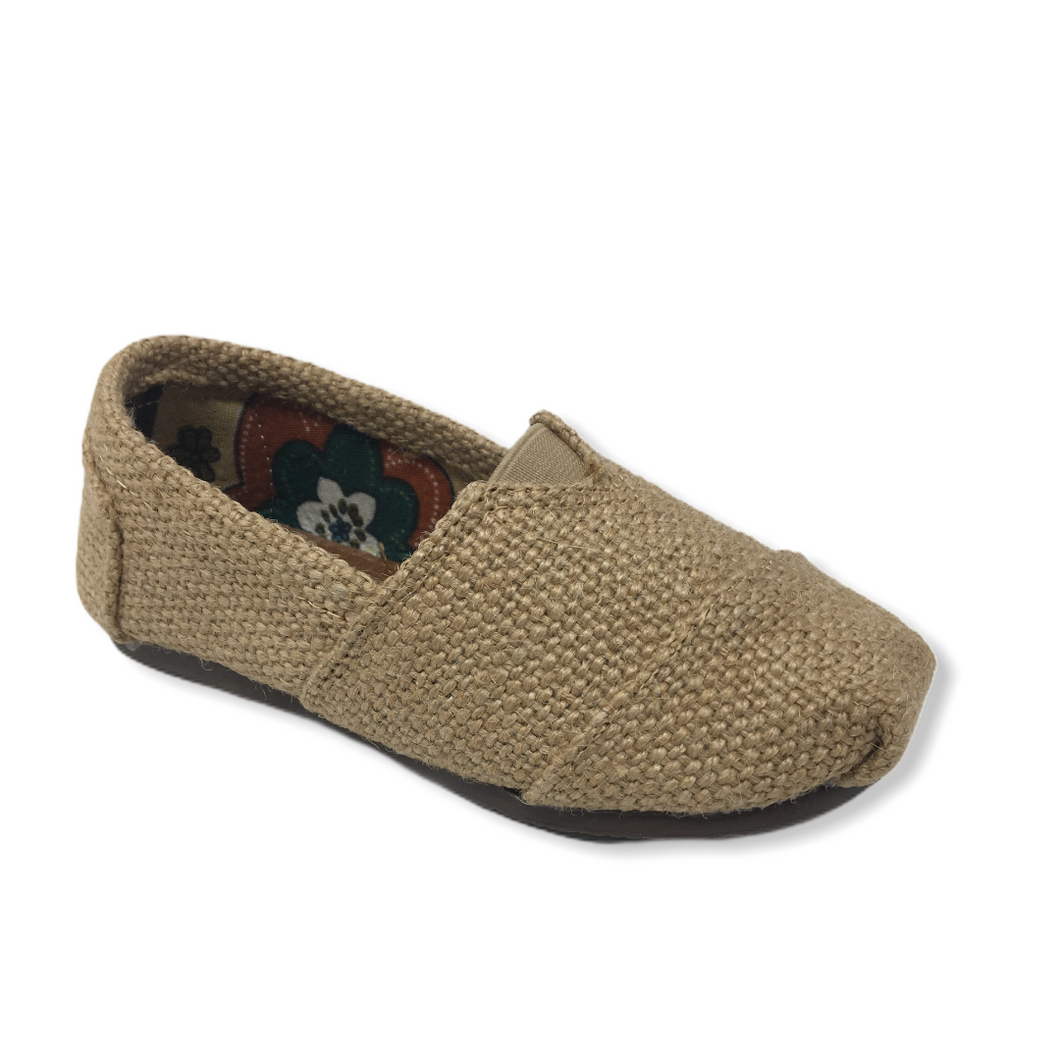 Toddler Woven Khaki Causal Shoe - Crabapple