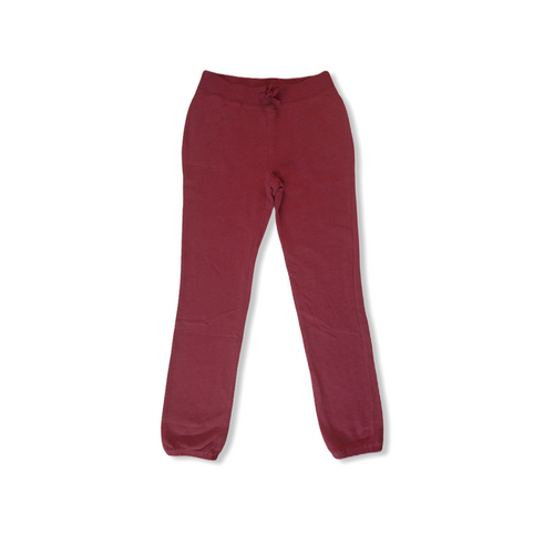 Girls' Rose Pink Jersey Sweatpants with Pockets - Crabapple