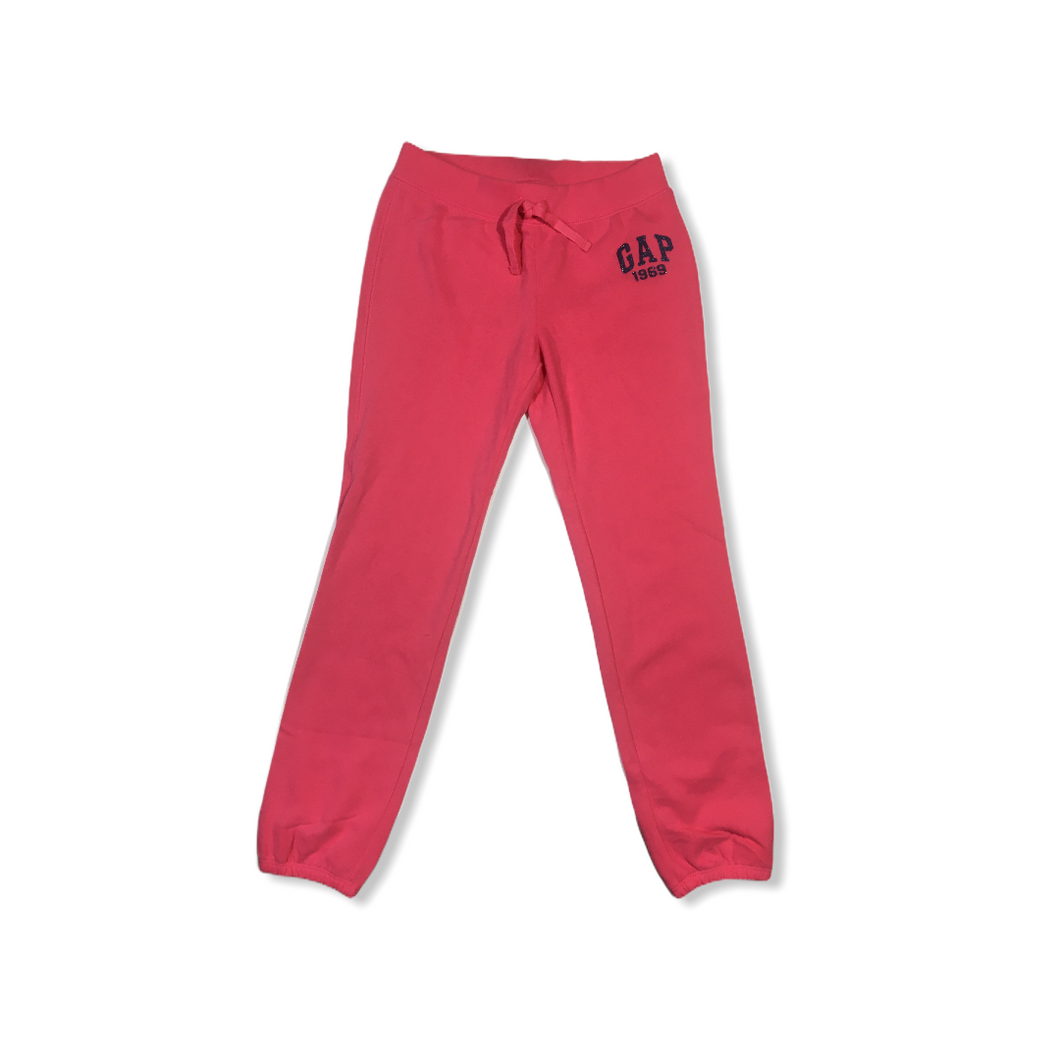 Girls' Pink GAP 1969 Sweatpants - Crabapple